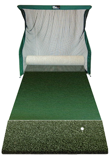 Golf Hitting Net and Putting Green