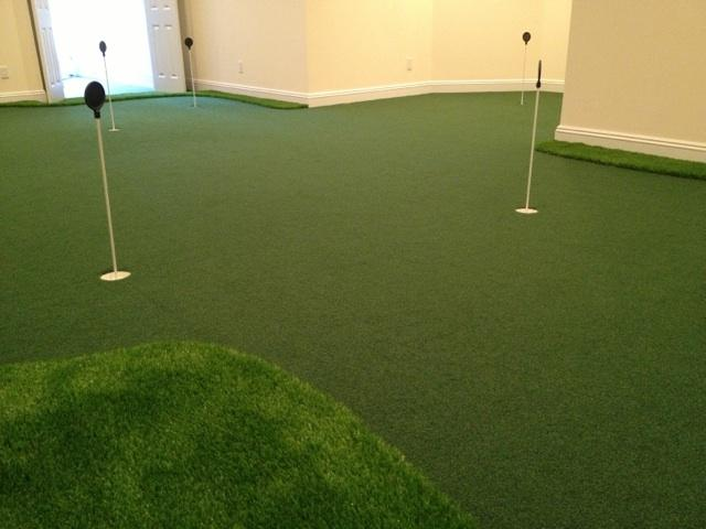 Golf Room Installation