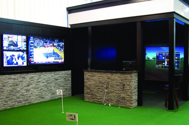 Indoor Golf Practice Facilities for Colleges