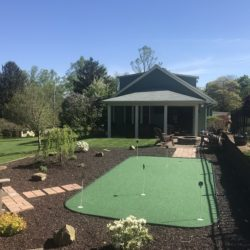10x20 Backyard Green