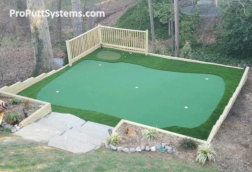 Merveilleux Backyard DIY Putting Green Kit