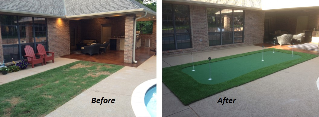 With A Pro Putt Systems DIY Backyard Green, Not Only Are You Saving Money  Versus A Fully Installed Green, Youu0027re Getting All The Benefits Of A Putting  Green ...