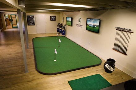 Large Indoor Putting and Chipping Greens
