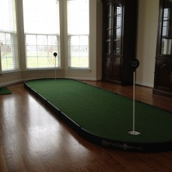 medium indoor putting green for living room