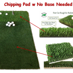 multi surface chipping pad