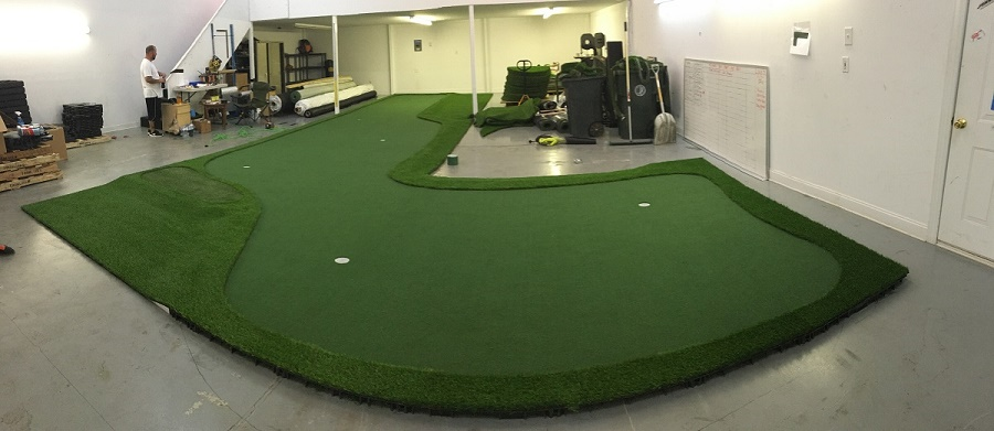 Build and Ship Golf Room