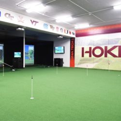 College Golf Room VA Tech
