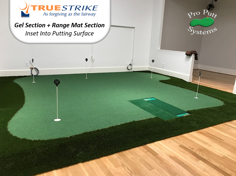 True Strike Gel and RM Inlay In Putting Green