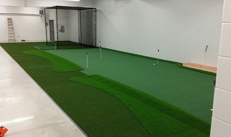 College Golf Room Design