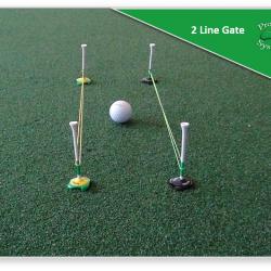 Putting Drill - 2 line gate