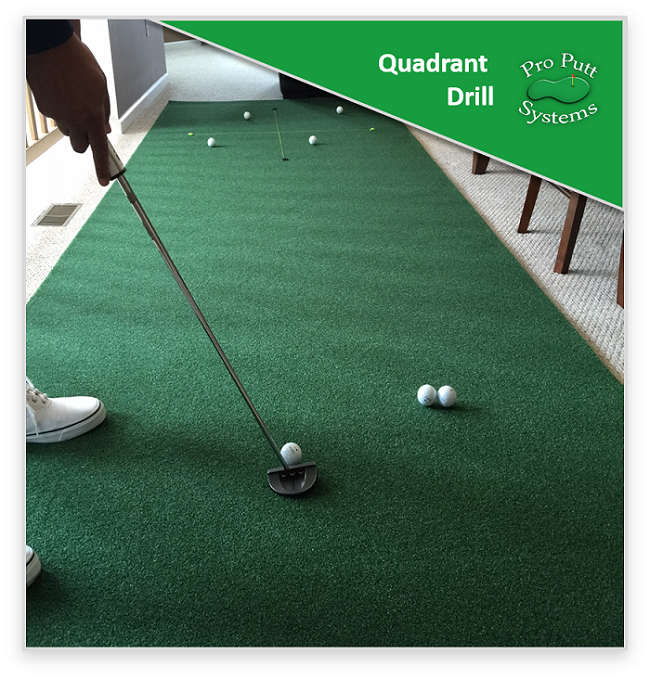 Putting Drill - Quadrant