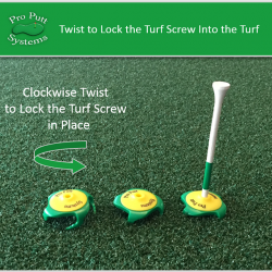 Turf Screw for Putting Drills