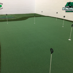 Racquetball COurt Golf Room w Puttiing Green
