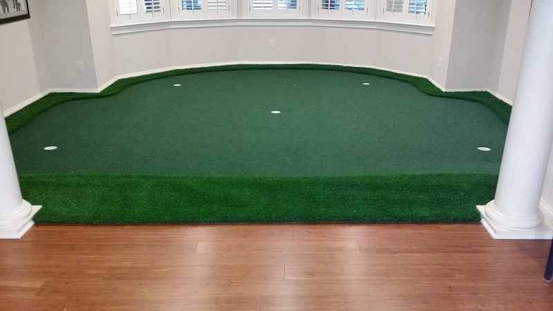 Custom Indoor Putting Greens