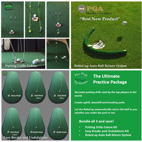 Indoor Putting Practice Package