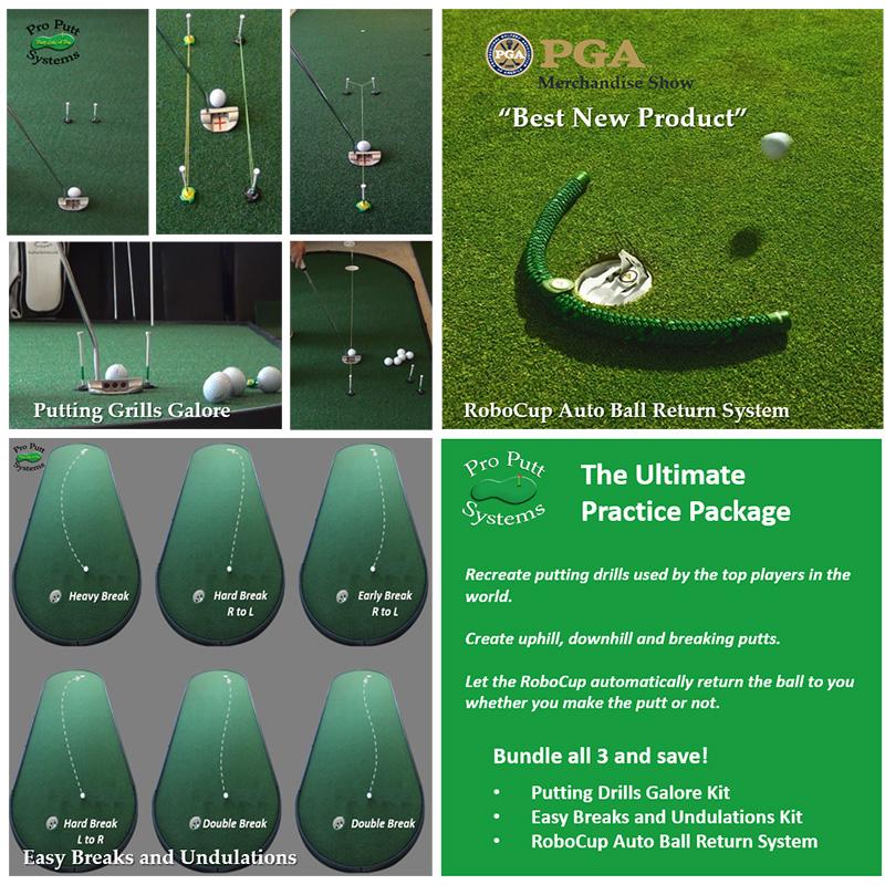 Indoor Putting Practice Package