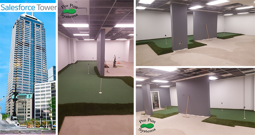 Commercial Office Putting Green