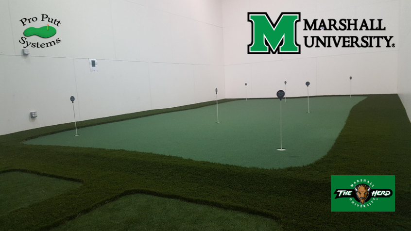 Marshall University Golf ROom