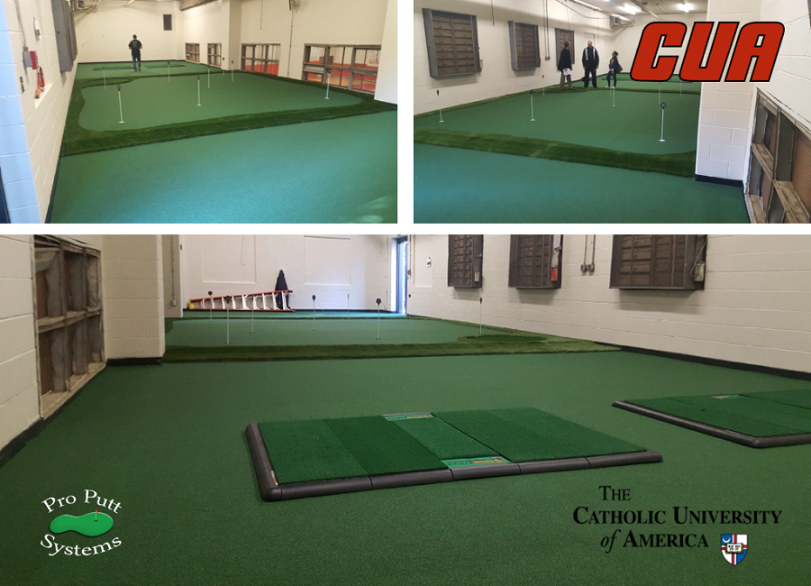 Catholic University Golf Room